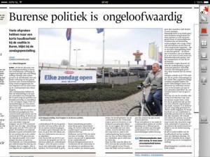 150307 Gelderlander Burense politiek ongeloofwaardig